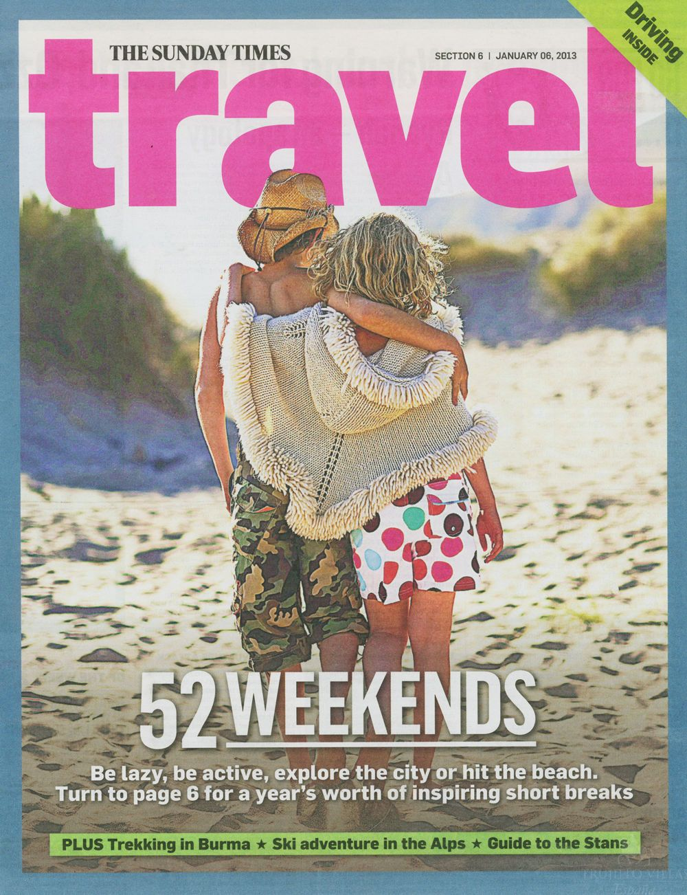 Sunday Times Travel, Artist's Studio & National Cheese Festival