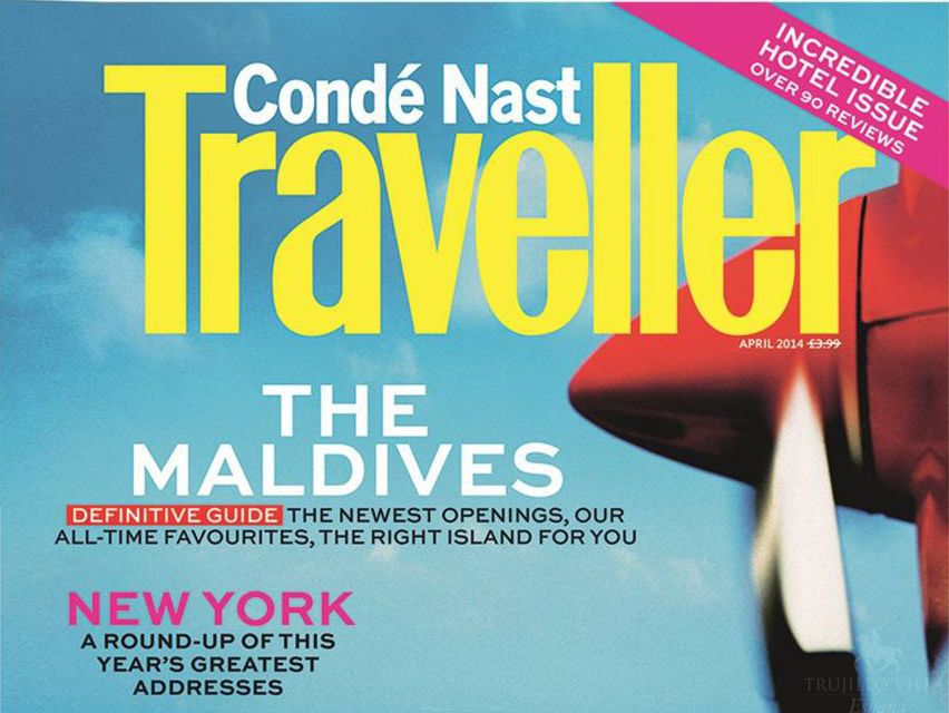 Conde Nast Traveller – 10th March 2014