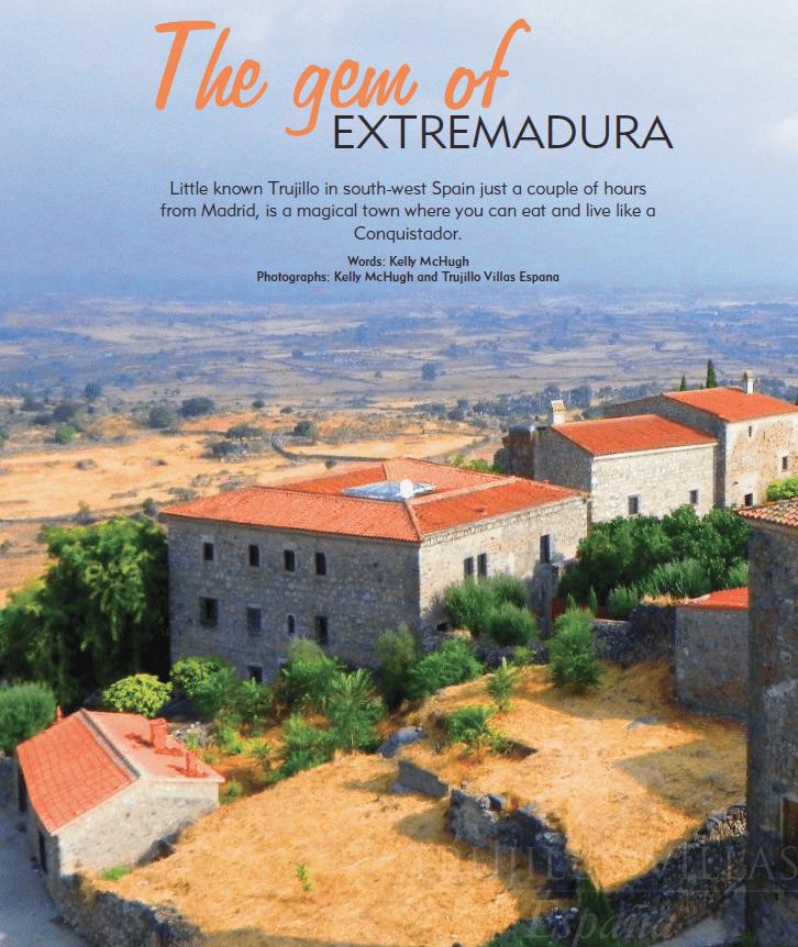 Living Spain Magazine, Villa Piedras Albas