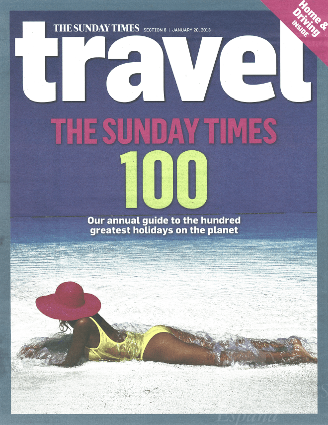 Sunday Times Travel, Villa Piedras Albas