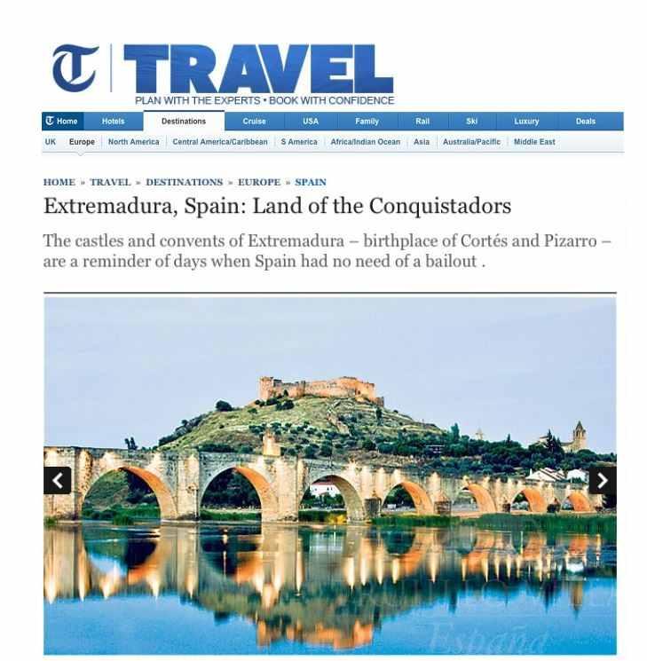 The Telegraph, Trujillo Villas