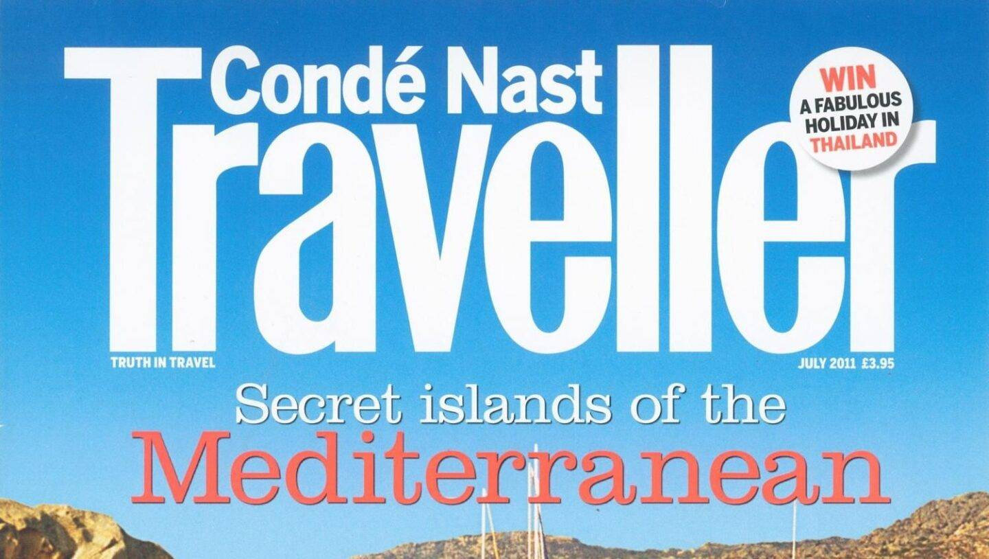 Conde Nast Traveller – 9th January 2013