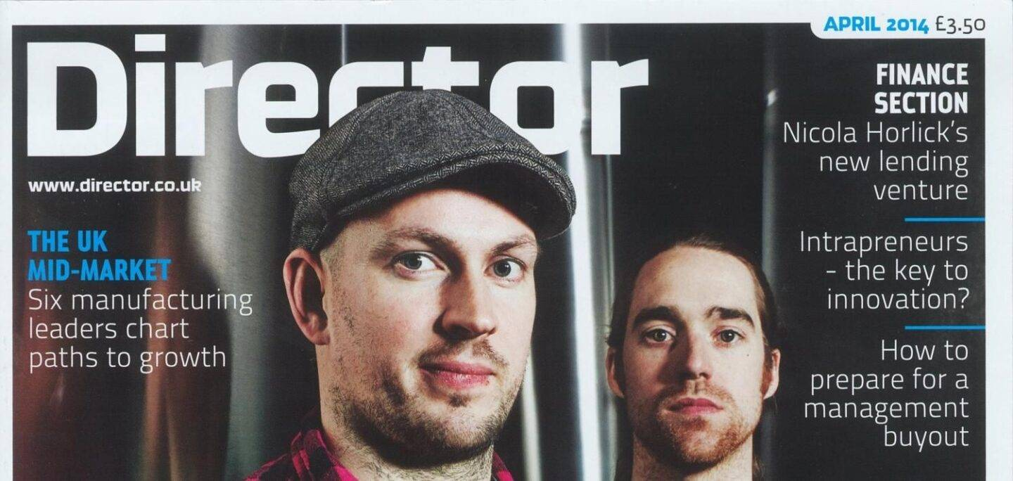 Director Magazine – 8th April 2014