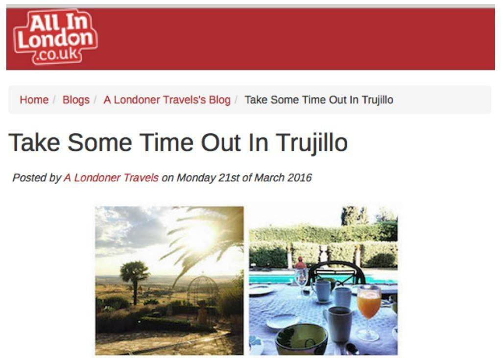 All In London Fashion Editor Experiences Trujillo