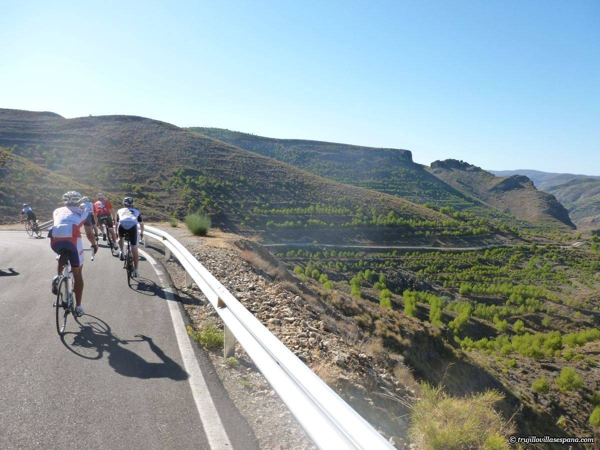 Cycling holidays in Extremadura