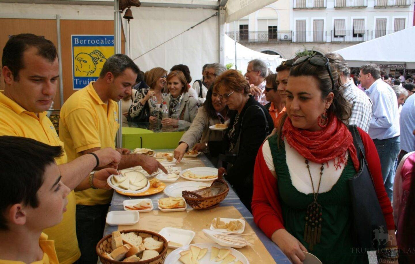 The National Spanish Cheese Festival in Trujillo