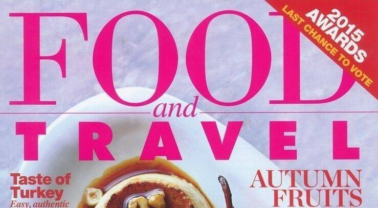 Featured in Food and Travel – October 2015